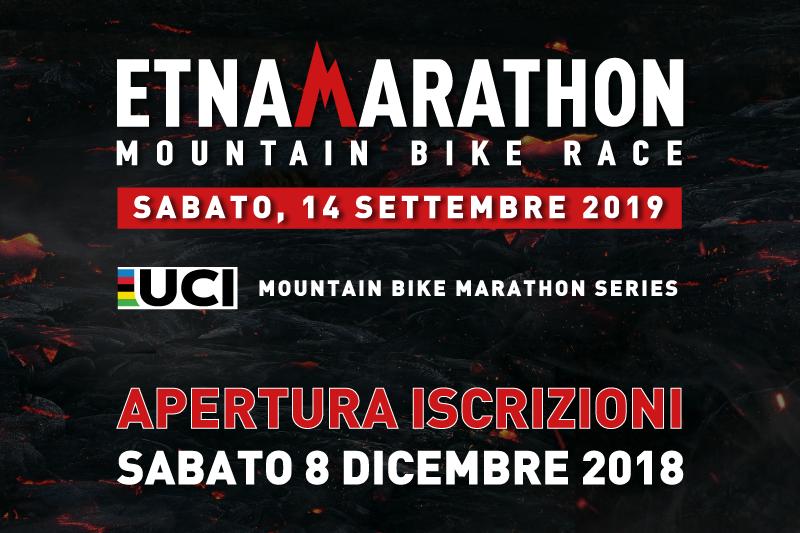 Etna Marathon UCI Series 2019 – Apertura iscrizioni 8 Dicembre alle 12