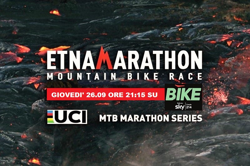 Etna Marathon dal 26 settembre in TV su Bike Channel