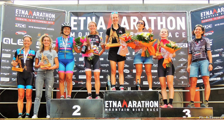 Etna Marathon 2019 a Riccardo Chiarini e Chiara Burato