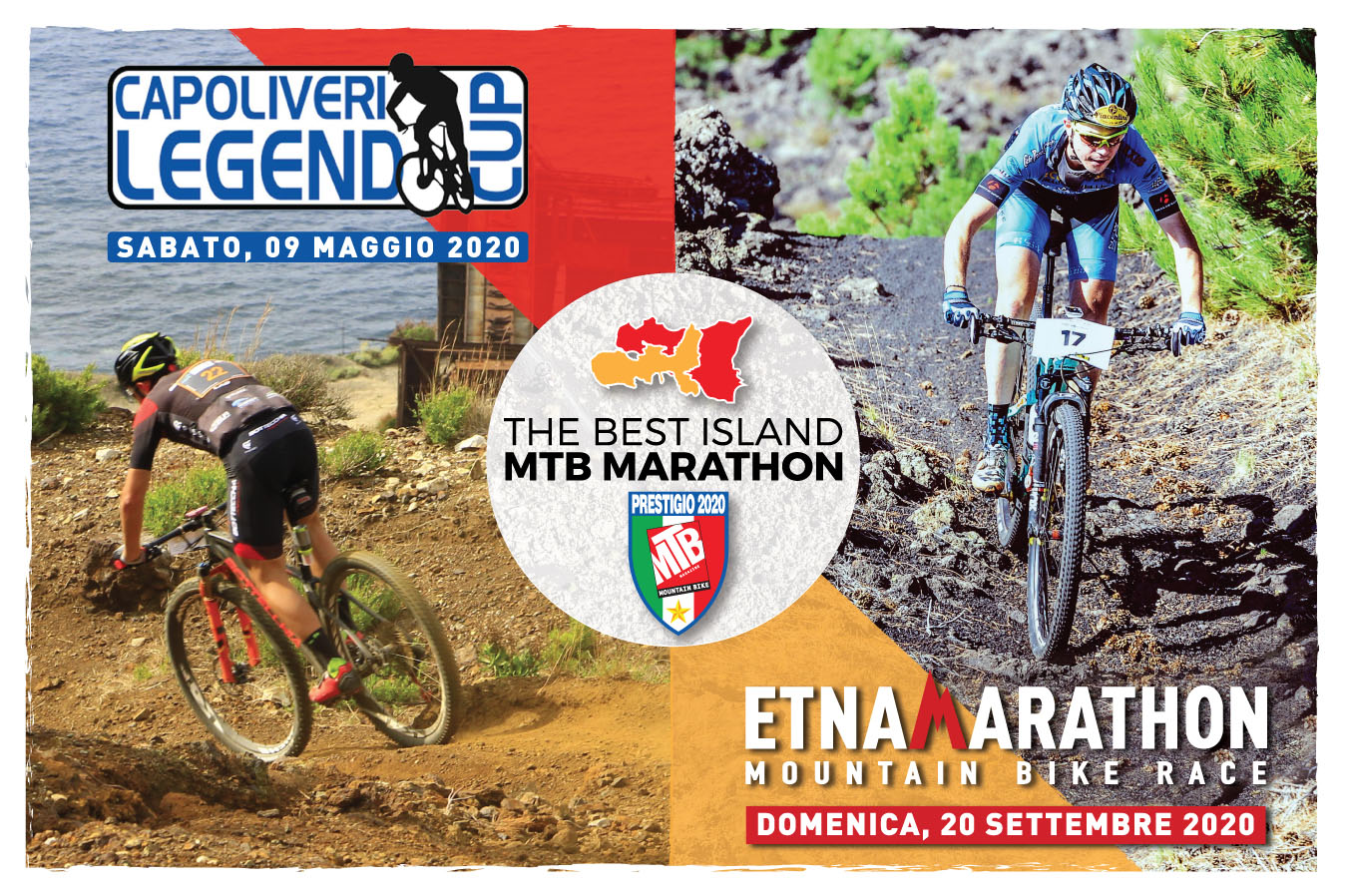 Torna la combinata The Best Island MTB Marathon tra Capoliveri Legend Cup e Etna Marathon
