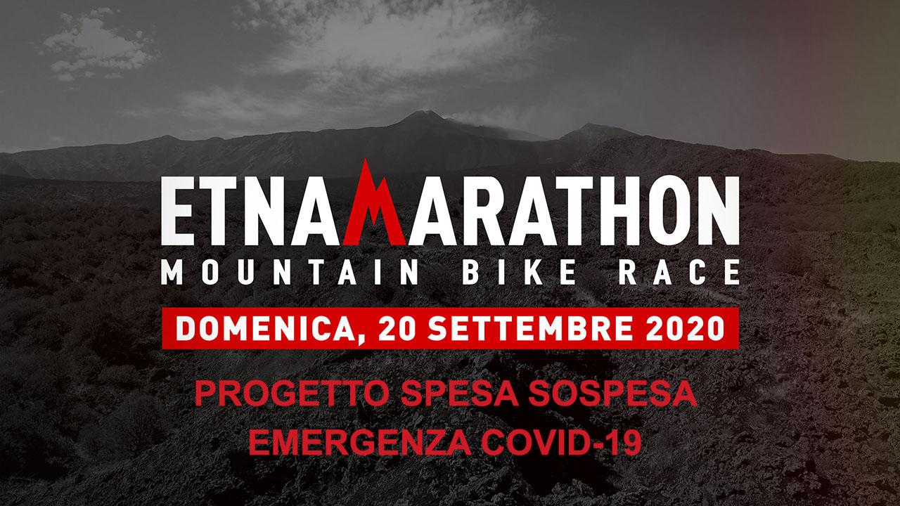 "L'Etna Marathon aderisce al ""Progetto Spesa Sospesa"" per beneficenza"